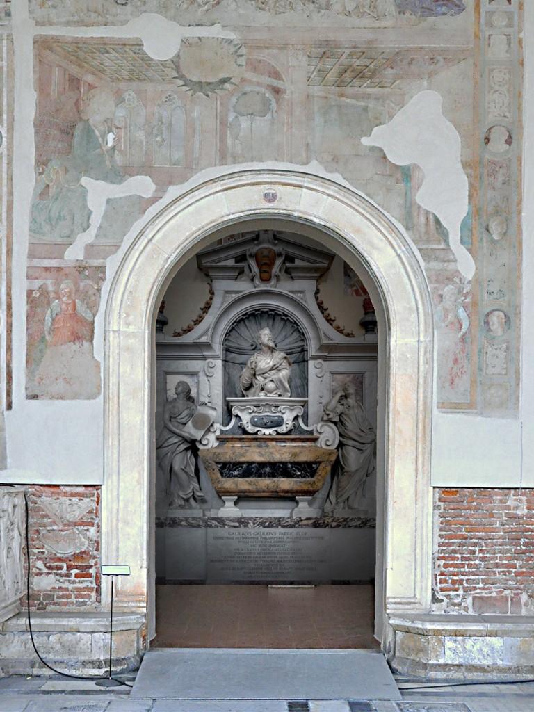 Progetto ipotetico di collocazione di un cenotafio a Galileo in Campo Santo